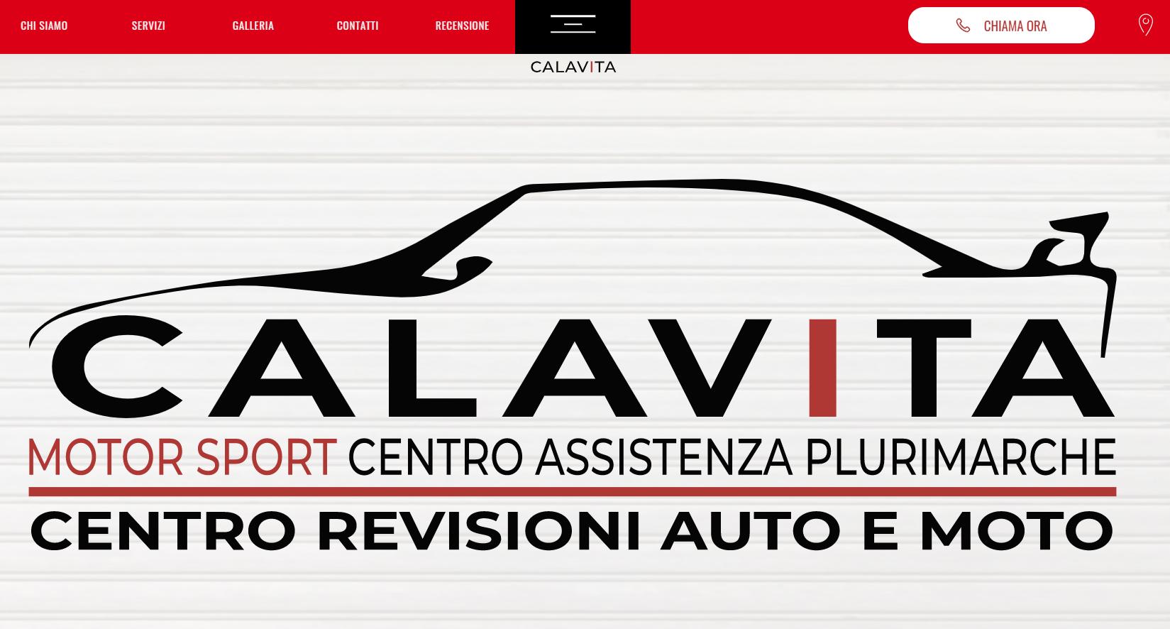 Скріншот сайту autofficina-calavitafrancesco.it